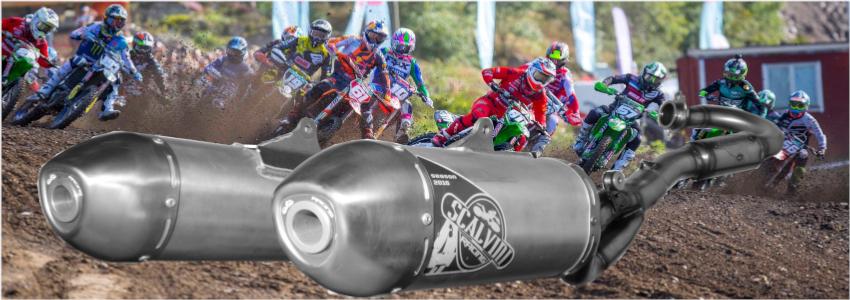 Scalvini Racing, vous propose sa nouvelle gamme d'échappements 4 Tps